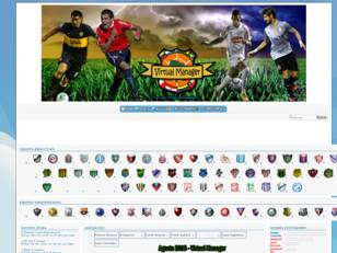 Virtual Manager - Liga Virtual Argentina y Sudamericana