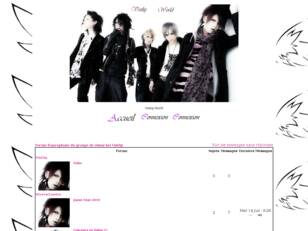 Forum francophone du groupe de visual-kei Vistlip