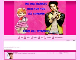 Official Fanclub of Sungmin