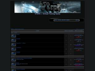 Forum gratis : VTRPG :: Virtual Tuning Game
