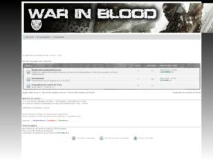War In BlooD