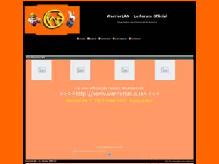 WarriorLAN - Le Forum Officiel