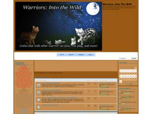 Free forum : Warriors, Into The Wild