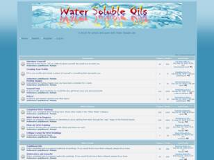 Water Soluble Oils