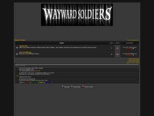 Wayward Soldiers- Slashing tires since 2006.