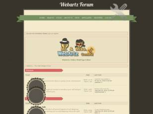 WebArtz - Web Design & Coding Forums