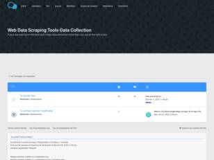 Web Data Scraping Tools-Data Collection
