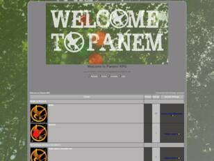 Welcome to Panem! RPG