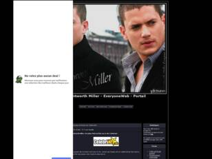 Wentworth Miller - EveryoneWeb