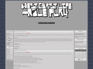 ..:. West Coast Life Roleplay Forum .:..