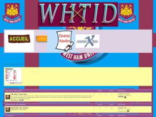WEST-HAM UNITED Le forum francophone des