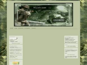 wii info team Call of duty