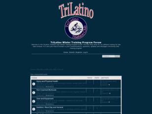 Free forum : TriLatino Winter Training Forum
