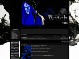 THE WITCH HUNT - J-Rock AU RP