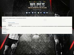 WLPES - Foro de Edicion de Pro Evolution Soccer para: PS2,PS3,PSP y PC
