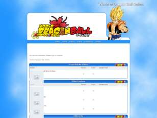 World of Dragon Ball Online