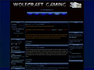 WolfCraft Gaming Network: Minecraft Forums