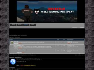 Official Forum : Wolf Gaming Roleplay