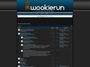 Wookierun @ Gaming Community