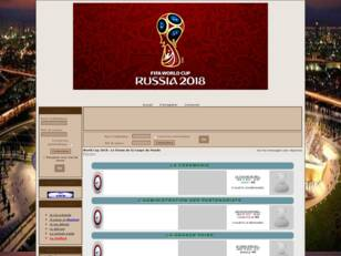 Créer un forum : World Cup 2018 Russie