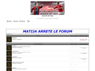 creer un forum : World-Of-Pes