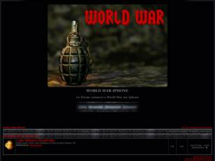 WORLD WAR IPHONE