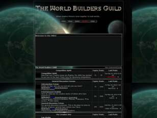 Free forum : The World Builders Guild