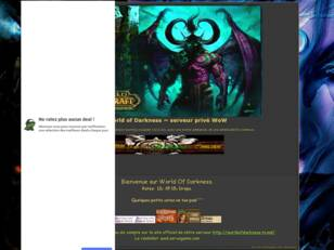 World of Darkness ~serveur prive WoW