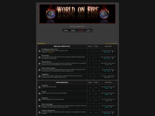 Free forum : World On Fire