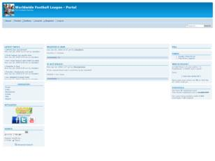 Free forum : Worldwide Football League