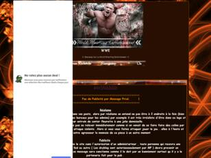 WWE |~ Bienvenue Sur La World Wrestling Entertaime