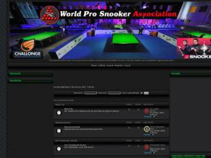 Free forum : World Pro Snooker Association featuring Snooker 19.