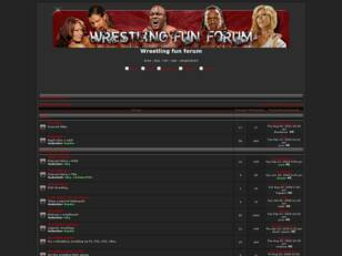 Wrestling fun forum