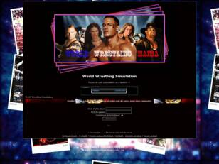 creer un forum : World Wrestling Simulation