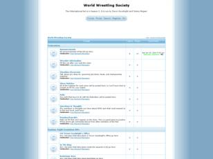 Free forum : World Wrestling Society