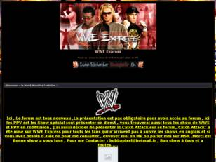 creer un forum : WWE Express