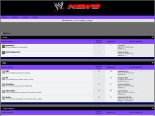 WWE News Forum