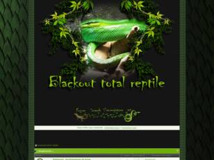 forum blackout total reptile