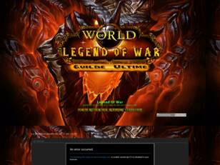 Legend Of War