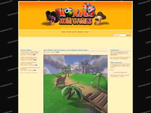 Xom Worms Games Forum
