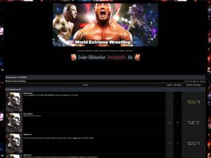 creer un forum : World Extreme Wrestling