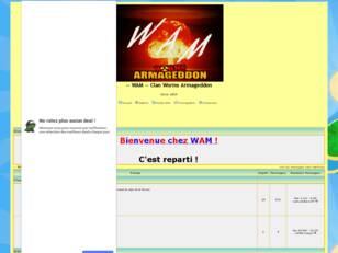 -- WAM -- Clan Worms Armageddon