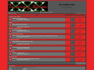 Forum gratis : XXX TUNING TEAM