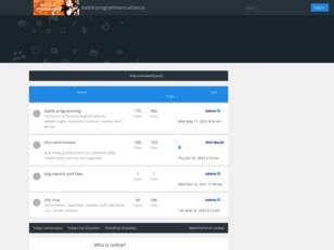 Free forum : battle programmers alliance