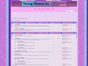 Young Mommies : A forum dedicated to the young mo