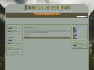 Journey of the Paws