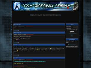 YXX Gaming Arena Forums