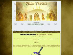 RPG Zelda Triforce