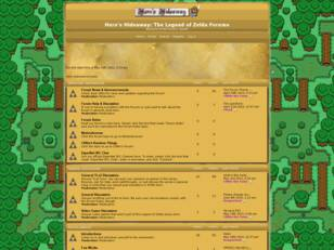 Hero's Hideaway: The Legend of Zelda Forums