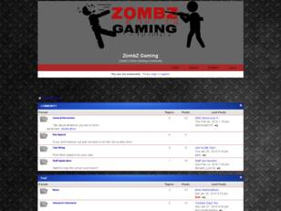 Free forum : ZombZ Gaming